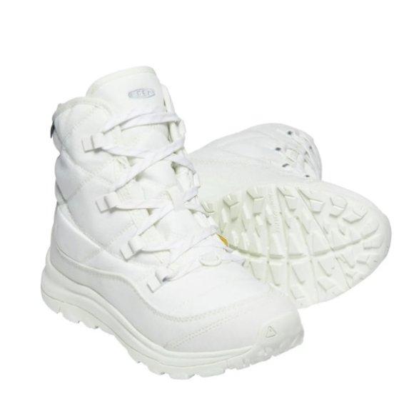 Keen white TERRADORA II winter waterproof boots 7
